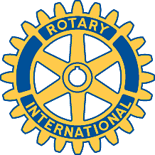 Blue and Yellow Belfast Rotary Logo