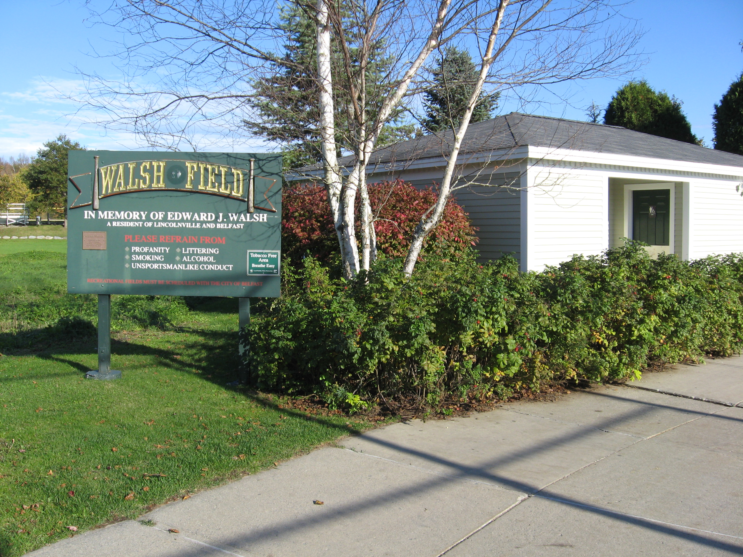 Walsh Field